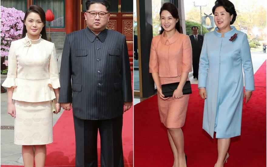 Kim Jong Uno žmona Ri Sol Ju