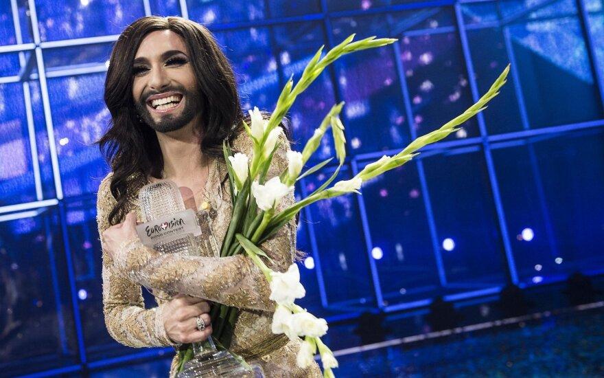 """""""Eurovizijos"""" nugalėtoja Conchita Wurst paskelbė serganti ŽIV: nuslėpti ligos nepavyko dėl buvusio mylimojo"""