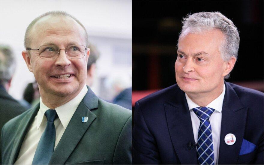 Ričardas Malinauskas ir Gitanas Nausėda