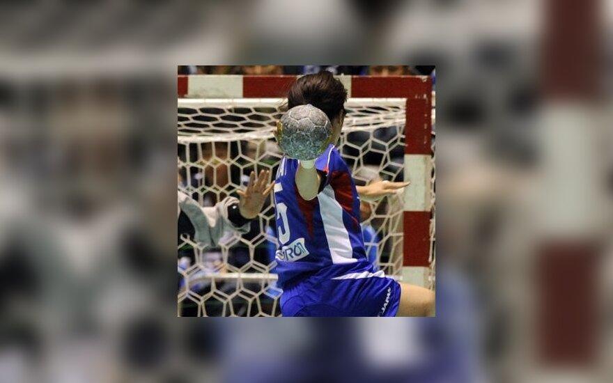Pirmoji Lietuvos 17-mečių rankininkių pergalė Europos čempionate