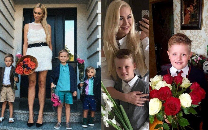 Gintarė Songailė su vaikais, Natalija Bunkė su sūnumi ir Ryčio Cicino sūnus Adas