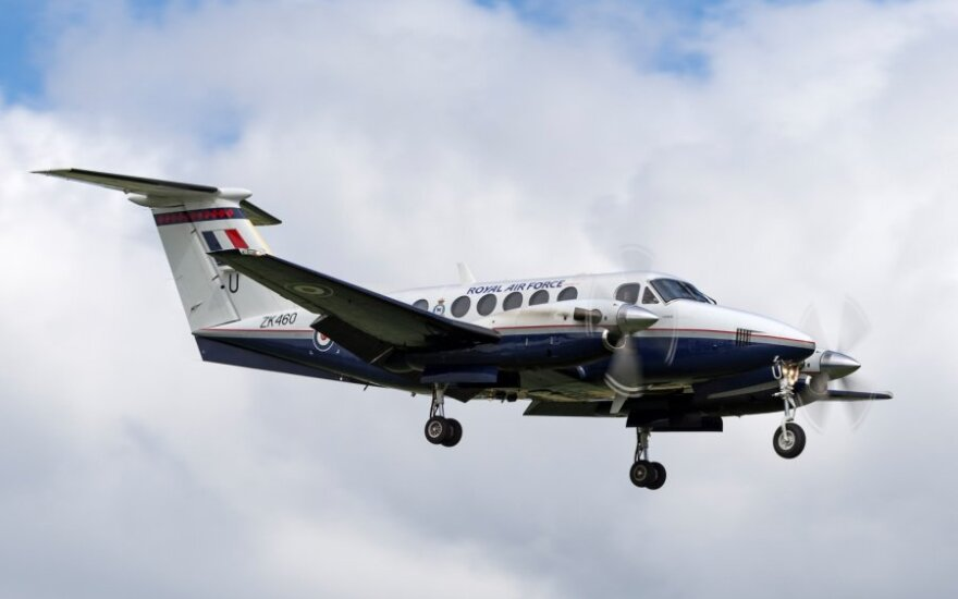 """King Air 200"" lėktuvas"
