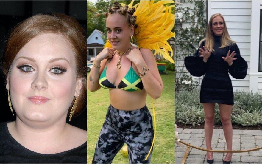 Dainininkė Adele /Foto: Vida press, Instagram
