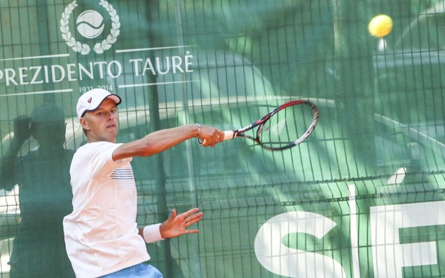 Five Lithuanian tennis players compete in President's Cup in Vilnius