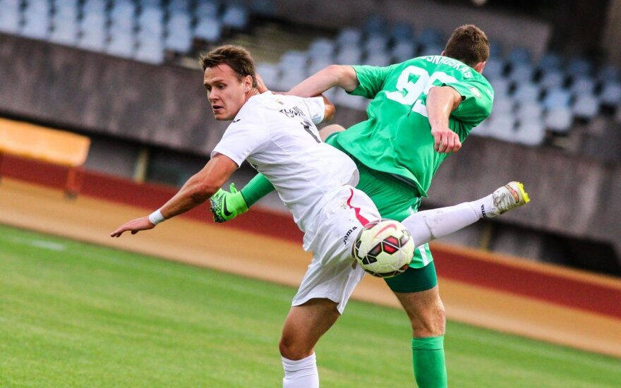 """Lietuvos futbolo A lygos 27-o turo anonsas: žūtbūtinė dvikova """"Sūduvai"""""""