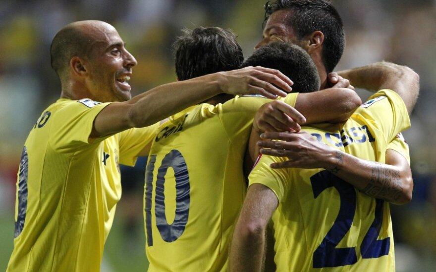 """""""Villareal"""" futbolininkai"""