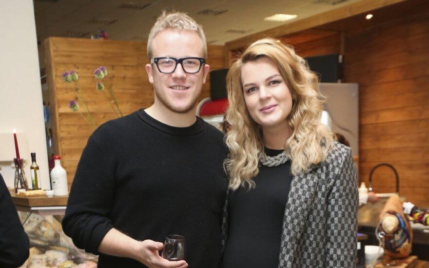 Rimantė Kulvinskytė ir Povilas Miškinis-Eidukonis