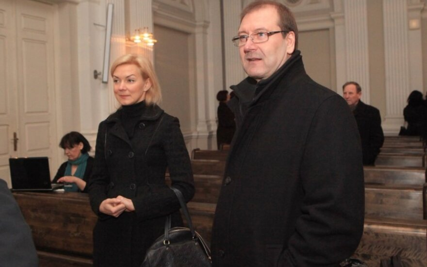 Vitalija Vonžutaitė, Viktoras Uspaskichas