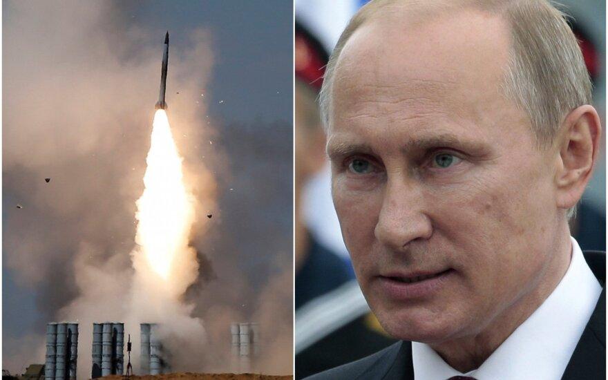 Putinas pateikė savo versiją dėl lėktuvo numušimo Sirijoje