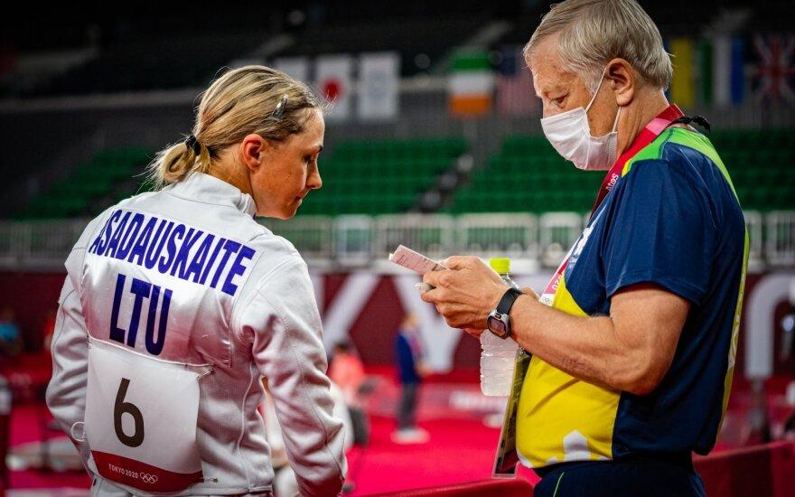 Laura Asadauskaitė-Zadneprovskienė, Jevgenijus Kliosovas