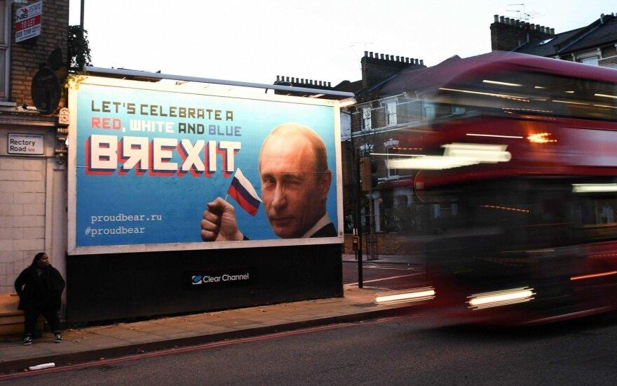 Reklamos Londono gatvėse suglumino vietinius