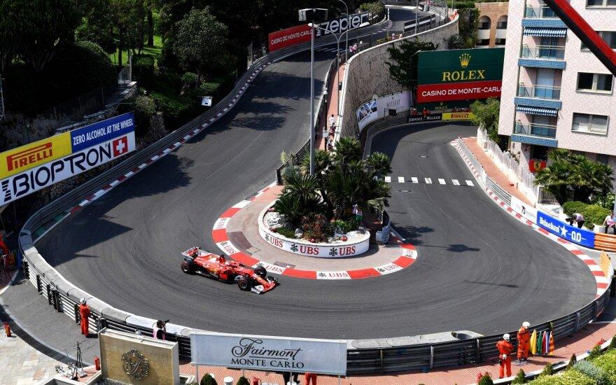 """Formulės-1"" Monako GP trasa"