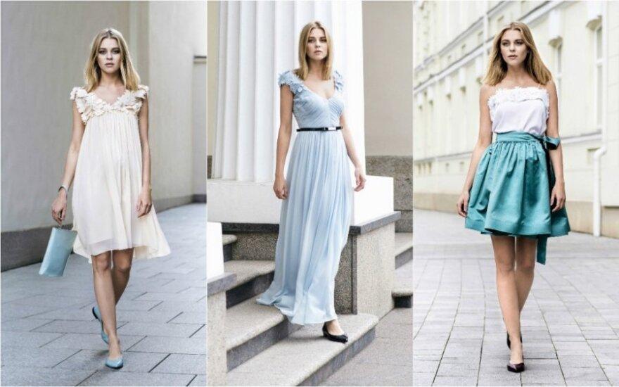 R. Piekautaitės kokteilinių suknelių kolekcija - romantikėms
