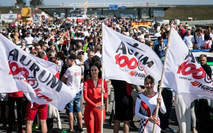 """""""Aurum 1006 km powered by Hankook"""" lenktynės"""