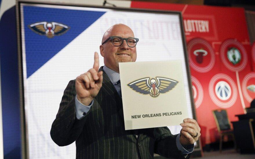 NBA naujokų biržos loterija