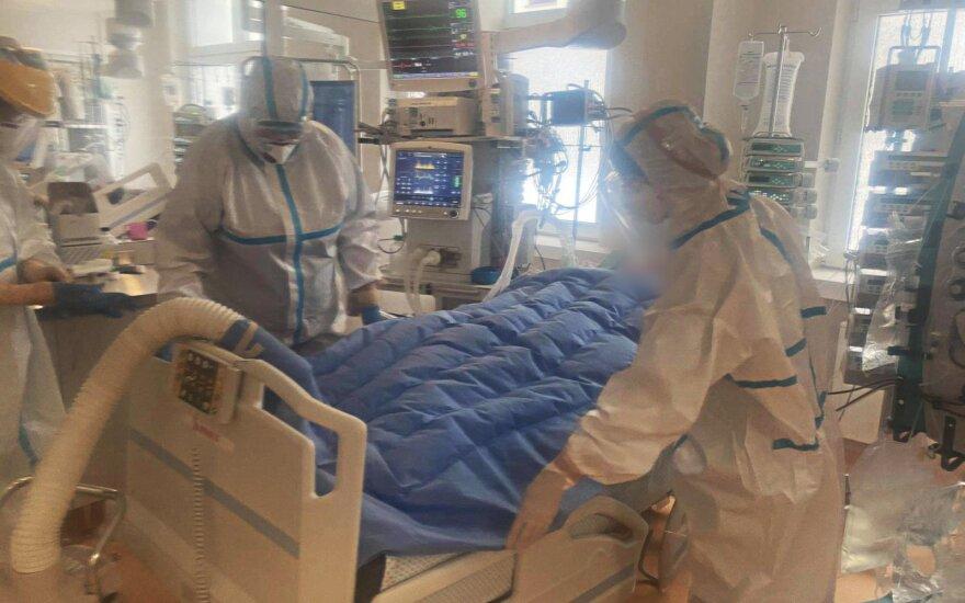 """Švyturio"""" dovanota įranga jau naudojama Santaros klinikų Covid-19 sergančių pacientų reanimacijos skyriuje."""