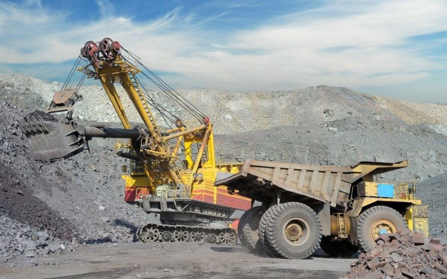 Metalų rūdos kasimas