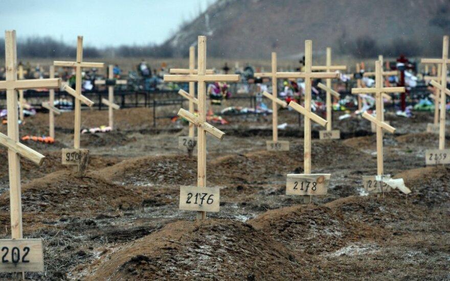 """""""Novaja gazeta"""": Pskovo srities kapinėse atsirado naujų desantininkų kapų"""