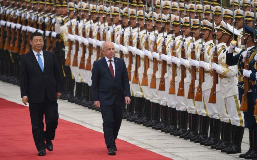 Ueli Maureris ir Xi Jinpingas