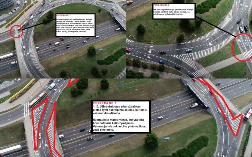 Vairuotojui atnaujintame žiede užkliuvo keli dalykai: jų privalo nelikti