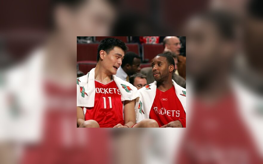 "Yao Mingas ir Tracy McGrady (""Rockets"")"