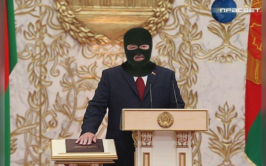 Memas apie Aliaksandro Lukašenkos inauguraciją