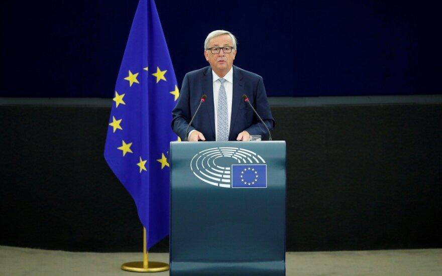 Junckeris: išstojusi iš ES Britanija neišsaugos valstybės narės privilegijų