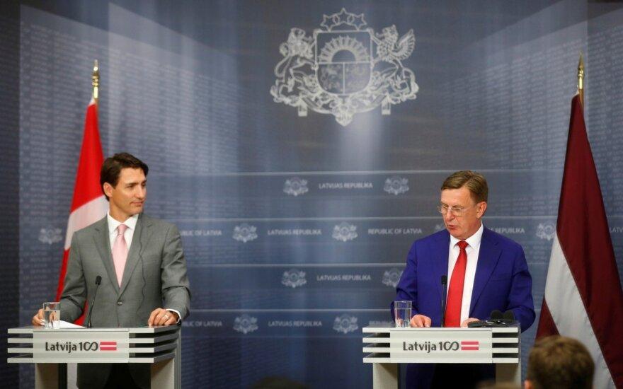 Justinas Trudeau latvijoje