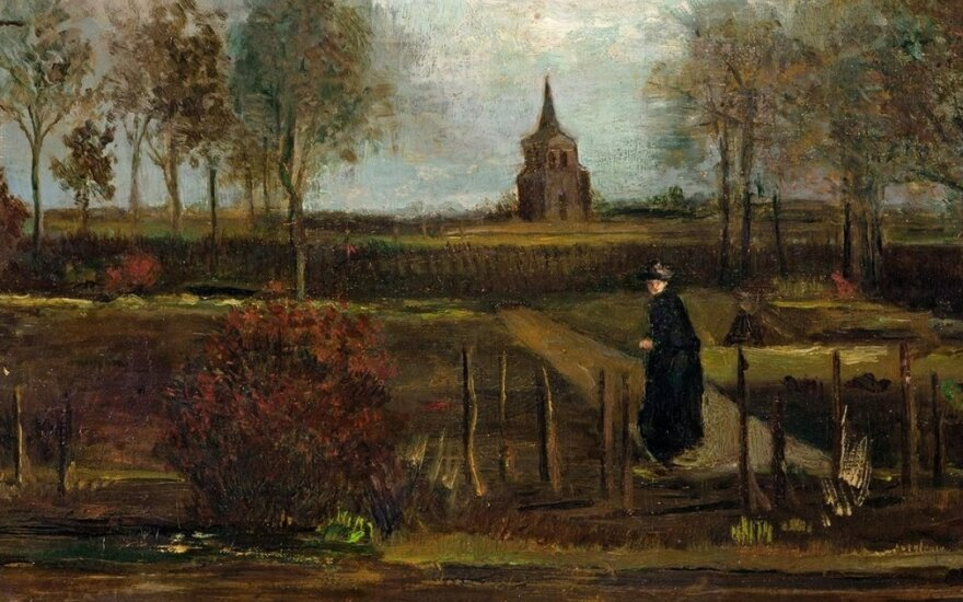 "Van Gogho kūrinys ""Niuneno klebonija"""
