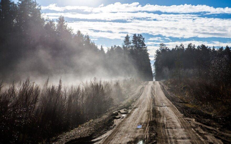 Šiemet miško keliams remontuoti skirta per 4 mln. eurų