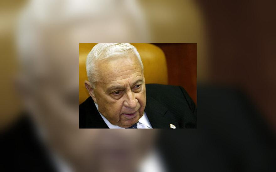 Izraelio premjeras Arielis Sharonas