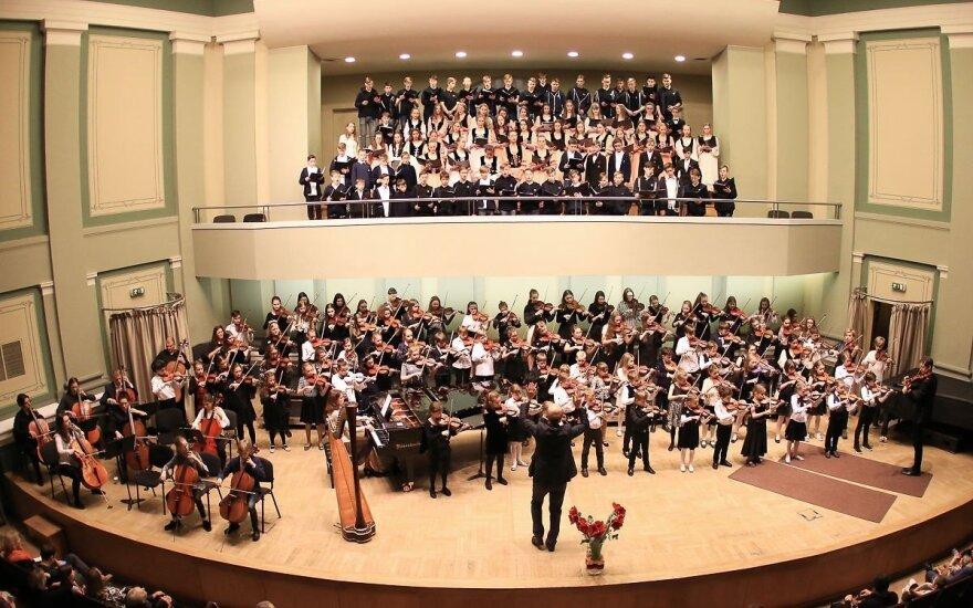 """Įvyko tarptautinis vaikų ir jaunimo muzikos festivalis """"Laudate pueri"""""""