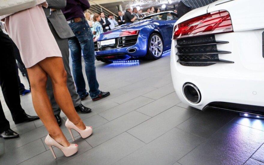Naujųjų Audi R8 Spyder pristatymas