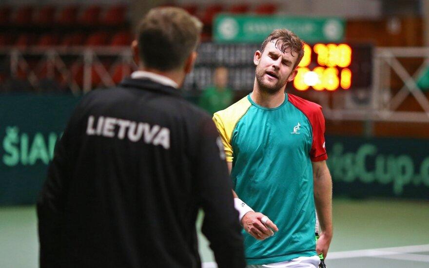 Laurynas Grigelis (Lietuvos teniso sąjungos nuotr.)