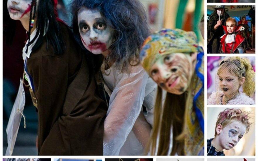 Įspūdingiausi vaikų Helovino kostiumai