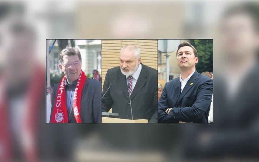 Algirdas Butkevičius, Valentinas Mazuronis, Artūras Zuokas