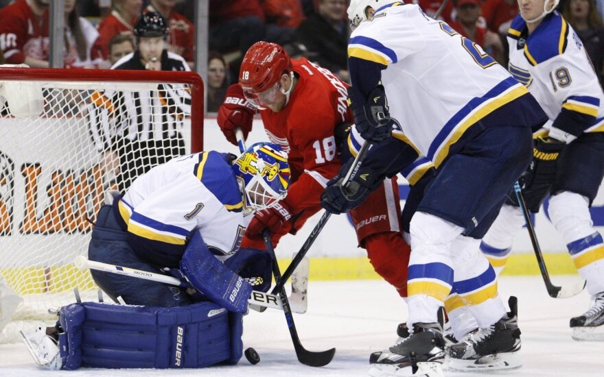 "NHL: ""Blues"" - ""Red Wings"""