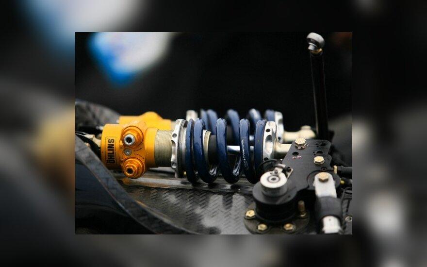 Energiją kaups ir automobilio amortizatoriai?
