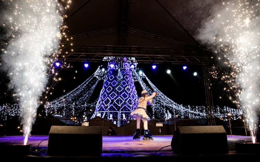 Stačiatikiai Vilniuje švenčia Kalėdas