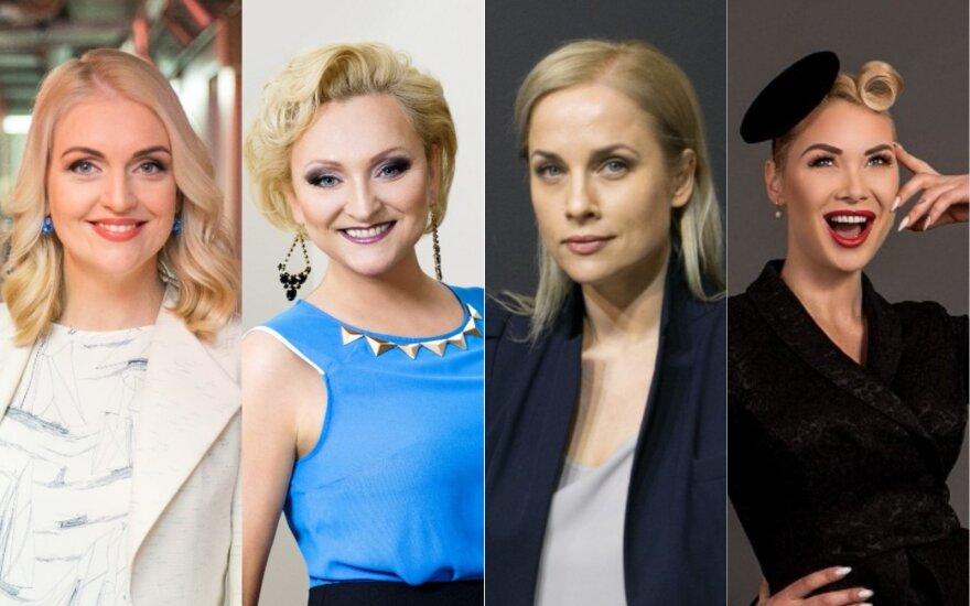 Rūta Ščiogolevaitė-Damijonaitienė, Inga Norkutė, Inga Jankauskaitė, Natalija Bunkė