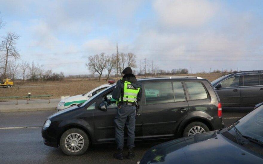 Klaipėdos pareigūnai surengė reidą