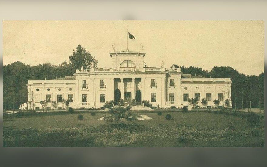 Trakų Vokės rūmai 1899 m.