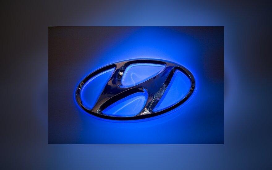 """Japonijos automobilių gamintojai baiminasi """"Hyundai"""" konkurencijos"""
