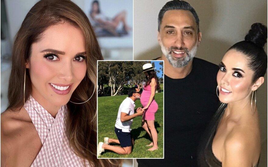 Marlene Favela su vyru