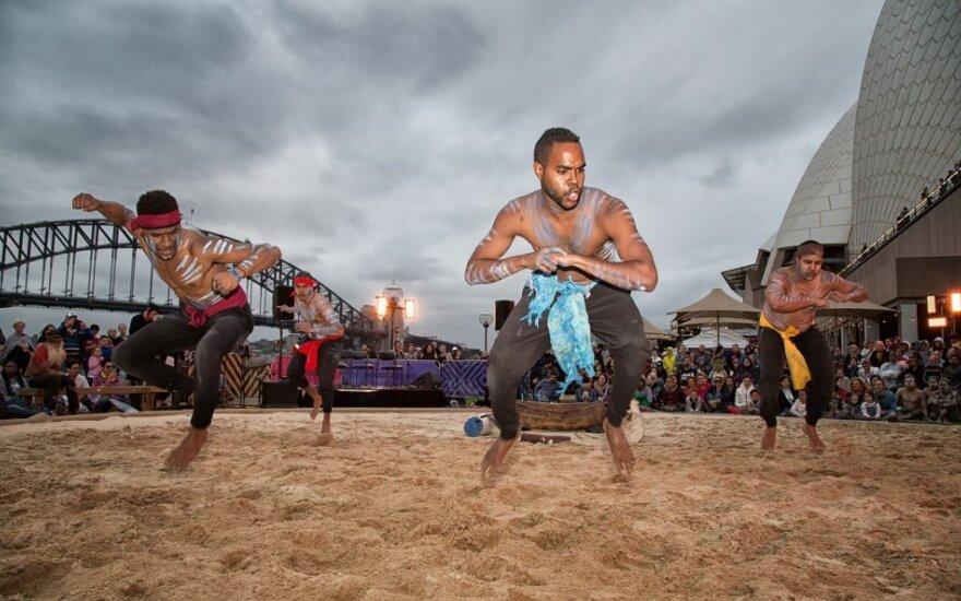 Australijos aborigenų šokėjai