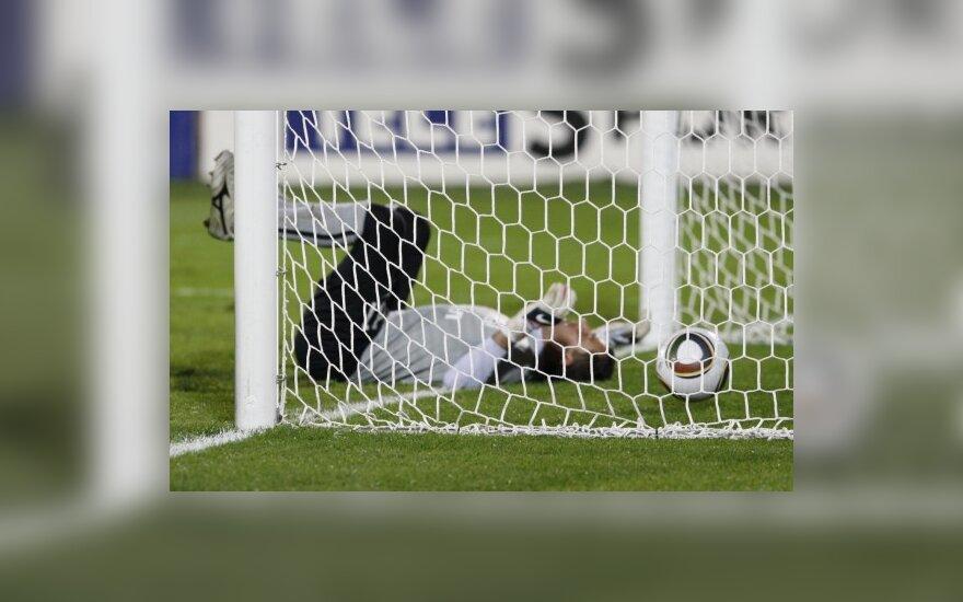 Britanijoje futbolo klubas per 11 mačų į savo vartus praleido 220 įvarčių
