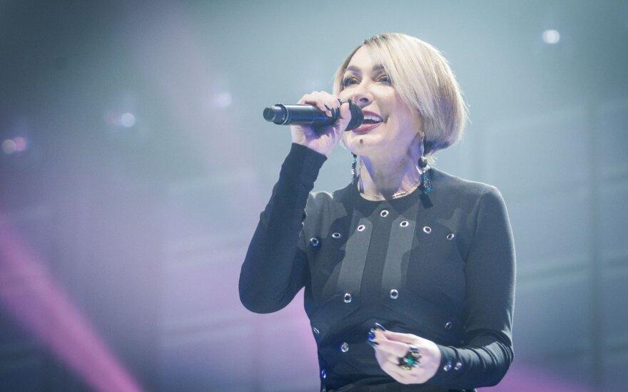 Koncerto užkulisiuose Džordana Butkutė sulaukė staigmenos nuo Egidijaus Dragūno