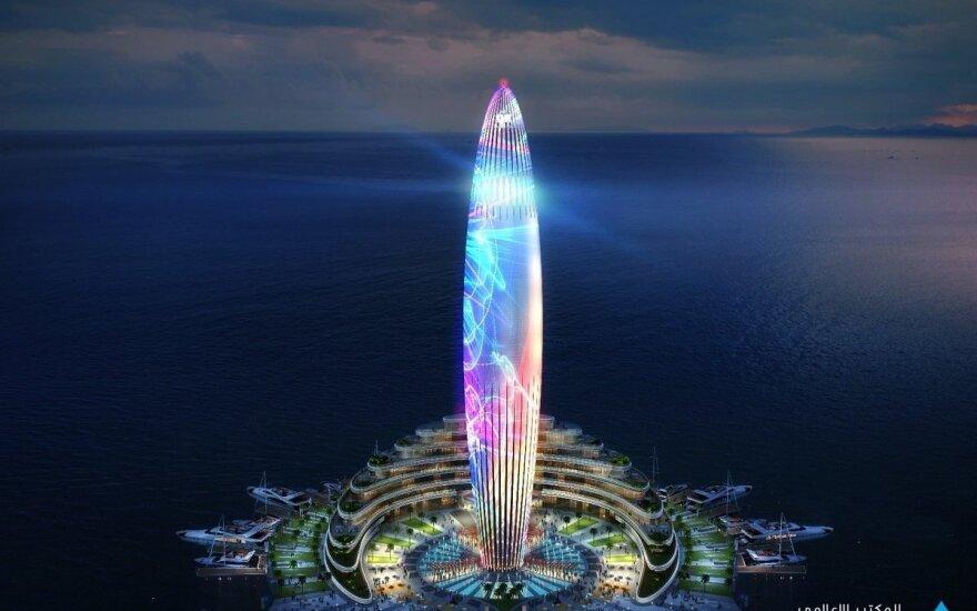 Dubajus paskelbė apie naują įspūdingą projektą