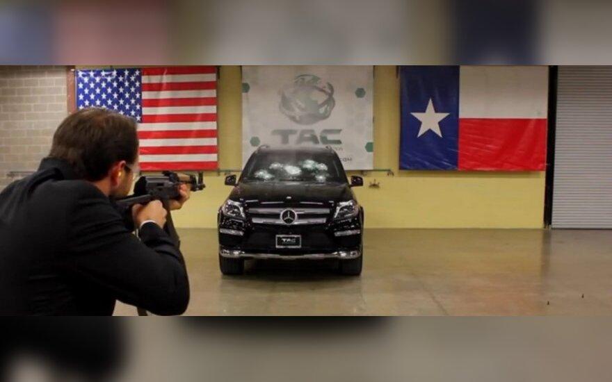 Šarvuotas Mercedes-Benz visureigis