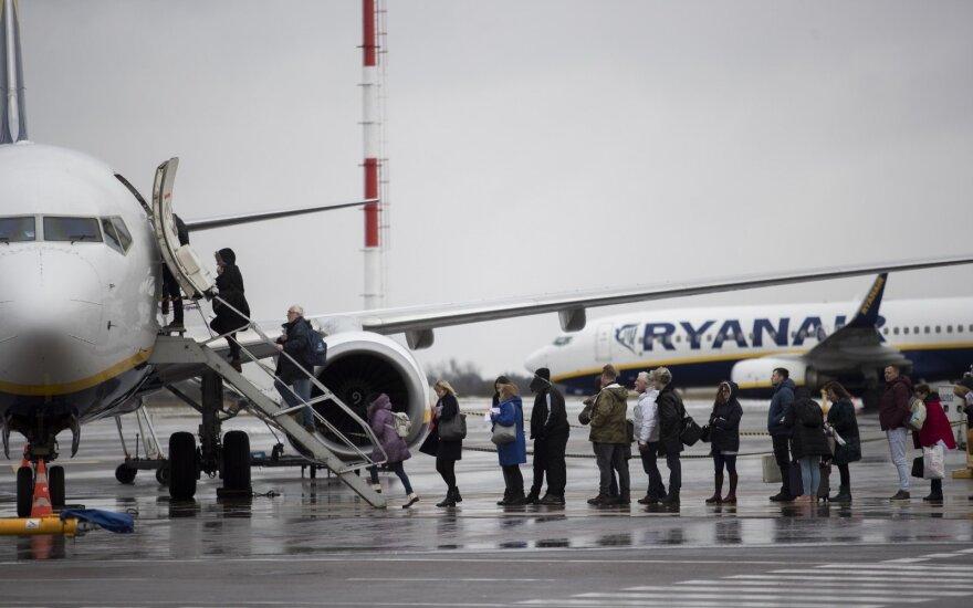 Ramina: dėl gedimų sistemoje lėktuvų eismas Lietuvoje nesutriko